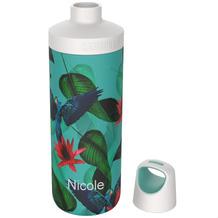 Kambukka Isolierflasche Reno Insulated Parrots Papagei MIT GRAVUR (z.B. Namen) Thermo-Flasche 500ml