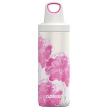 Kambukka Isolierflasche Reno Insulated Pink Blossom rosa Blüten Thermo-Flasche 500ml