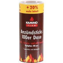 Kamino Flam 6 er Pack Anzündsticks120Stk.Dose Naturh.und Wachs