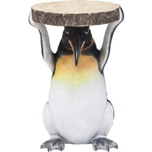 Kare Design Beistelltisch Animal Mr Penguin Ø33cm