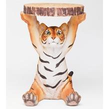 Kare Design Beistelltisch Animal Tiger Ø35cm