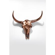 Kare Design Deko Geweih Skull Copper Big