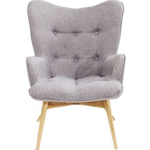 Kare Design Armchair Vicky Grey