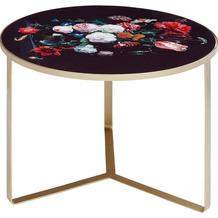 Kare Design Beistelltisch Flores Ø55cm Motivtisch Blumentisch