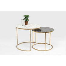 Kare Design Beistelltisch Mystic Round Klein (2/Set) Ø61cm
