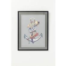 Kare Design Bild Frame Art Anchor 80x60cm