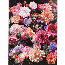 Kare Design Bild Touched Flower Bouquet 120x90
