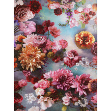 Kare Design Bild Touched Flower Sky 120x90