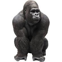 Kare Design Deko Figur Monkey Gorilla Front XXL Dekofigur