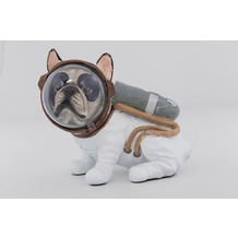 Kare Design Deko Figur Space Dog Sitting 18cm