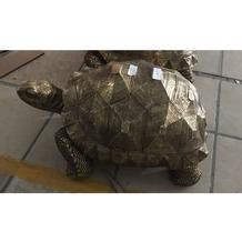 Kare Design Deko Figur Turtle Gold Medium