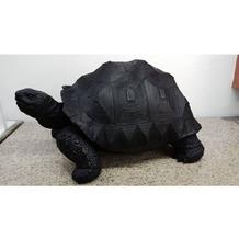 Kare Design Deko Figur Turtle Schwarz Medium
