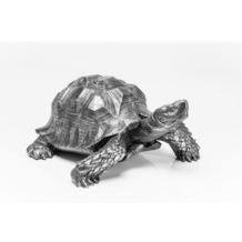Kare Design Deko Figur Turtle Silber Groß