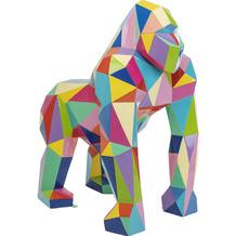 Kare Design Deko Objekt Gorilla XL Bunt Skulptur