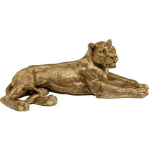 Kare Design Deko Objekt Lion Gold Dekofigur
