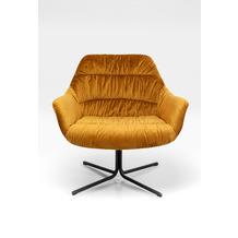 Kare Design Drehsessel Bristol Gelb