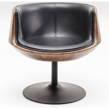 Kare Design Drehstuhl Club 54 Walnut