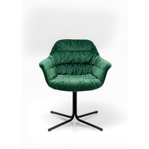 Kare Design Drehstuhl Colmar Grün