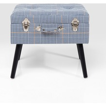 Kare Design Hocker Suitcase Pepita