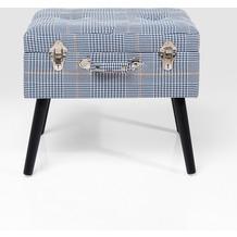Kare Design Hocker Suitcase Pepita