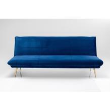 Kare Design Schlafsofa Soda Blau 188cm