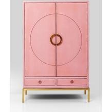 Kare Design Kleiderschrank Disk Pink