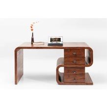 Kare Design Schreibtisch Soft Snake Walnut 1