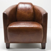 Kare Design Sessel Cigar Lounge Brown