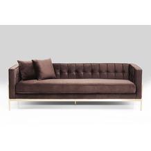 Kare Design Sofa Loft Braun 3-Sitzer