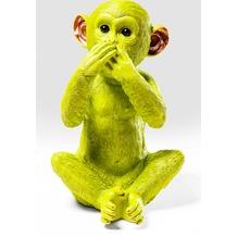 Kare Design Spardose Monkey Iwazaru Grün