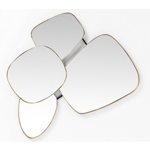 Kare Design Spiegel Shapes 130x105cm