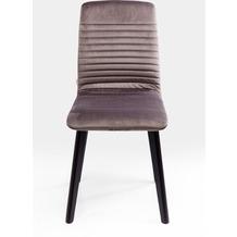 Kare Design Stuhl Lara Velvet Silver