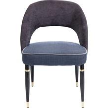 Kare Design Stuhl Samantha Grau