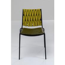 Kare Design Stuhl Two Face Grün