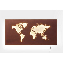 Kare Design Wandleuchte Map LED