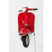 Kare Design Wandleuchte Scooter Rot Big