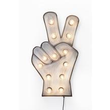 Kare Design Leuchtobjekt Peace 13er