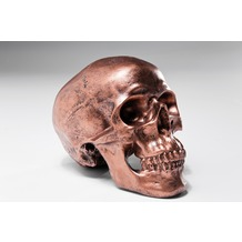 Kare Design Spardose Skull Copper Antique