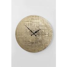 Kare Design Wanduhr Gold Digger
