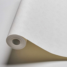 Karl Lagerfeld Wallpaper Vliestapete Fan metallic weiß 378475 10,05 m x 0,53 m