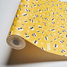 Karl Lagerfeld Wallpaper Vliestapete Ikonik gelb schwarz weiß 378434 10,05 m x 0,53 m