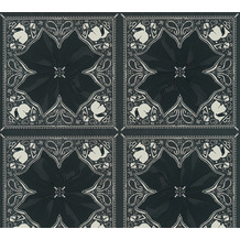 Karl Lagerfeld Wallpaper Vliestapete Kaleidoscope schwarz weiß 378452 10,05 m x 0,53 m