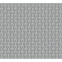Karl Lagerfeld Wallpaper Vliestapete Kuilted grau 378443 10,05 m x 0,53 m