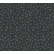 Karl Lagerfeld Wallpaper Vliestapete Leopard grau metallic schwarz 378565 10,05 m x 0,53 m