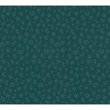 Karl Lagerfeld Wallpaper Vliestapete Leopard grün metallic 378567 10,05 m x 0,53 m