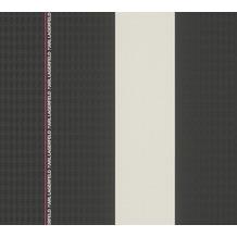 Karl Lagerfeld Wallpaper Vliestapete Ribbon schwarz lila weiß 378482 10,05 m x 0,53 m