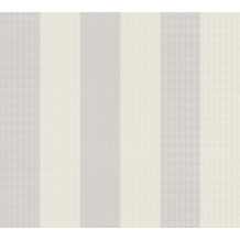 Karl Lagerfeld Wallpaper Vliestapete Stripes beige weiß 378494 10,05 m x 0,53 m