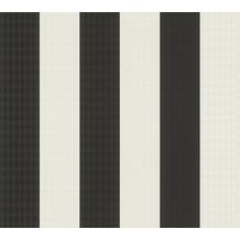 Karl Lagerfeld Wallpaper Vliestapete Stripes schwarz weiß 378492 10,05 m x 0,53 m