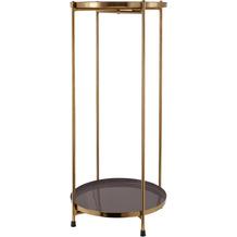Kayoom Beistelltisch Art Deco 1025 Elfenbein / Grau