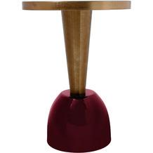 Kayoom Beistelltisch Art Deco 225 Altrosa / Pflaume